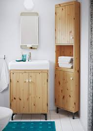 Cute Cabinet Bathrooms Design Best Ikea Small Bathroom Cabinets Natural Pine