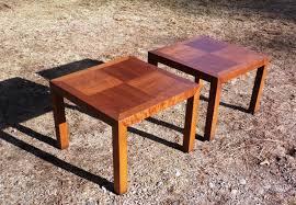 lane mid century modern coffee table vintage pair mid century modern lane solid walnut end tables