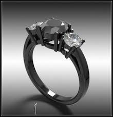 Black Wedding Rings by Astonishing Black Tungsten Wedding Bands With Diamonds For Men