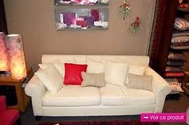 canap tissu blanc canapes tissus canap tissus fixe 2 ou 3 places coloris naturel