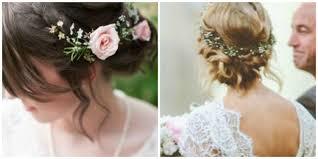 simple bridal hairstyle 50 romantic wedding simple wedding hairstyles flowers wedding