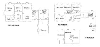 Georgian Mansion Floor Plans Rectory Style House Plans Home Styles