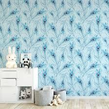 peacock feather watercolour wallpaper u2013 ginger monkey