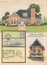 Storybook Homes Floor Plans 159 Best Plan Books Images On Pinterest Vintage Houses House