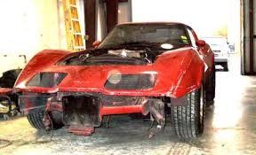 corvette fiberglass repair exle photos