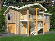 Rv Garage Apartment Garage With Loft 0124 Garage Plans And Garage Blue Prints