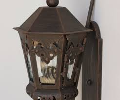 Colonial Outdoor Lighting Fixtures Congenial Size For Nt Lanterns Copper Hanging Lights By