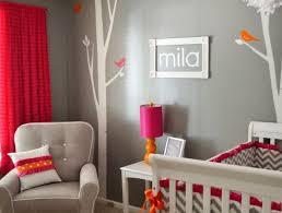 chambre bebe orange déco de la chambre bébé fille sans en 25 idées babies