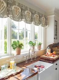 kitchen window valance ideas classic kitchen valance ideas