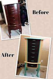 Antique Jewelry Armoires 84 Best Jewelry Armoire Redo Images On Pinterest Jewelry Armoire