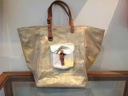 sac cabas en lin pomponette boutique pipelette à castres