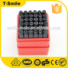 steel stamping letter number punches sets steel stamping letter