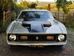 1971 ford mustang mach 1 351 4 speed manual with hurst shifter