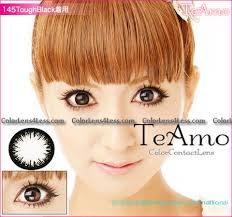 teamo darling black colored contacts pair gbk 4 24 99