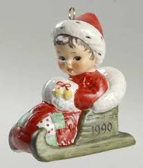 goebel annual ornament porcelain at replacements ltd