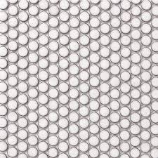 beltile bone penny round tile mosaic  glossy   inch  with bone penny round tile mosaic  glossy from beltilecom