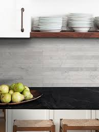 limestone backsplash kitchen light gray subway backsplash tile modern backsplash tile