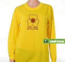 Seragam Sekolah Lengan Panjang t shirt tunas puteri lengan panjang sekolah