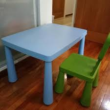 ikea childrens table and chairs ikea children table chair babies kids others on carousell