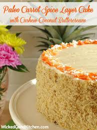 paleo carrot cake with cashew coconut buttercream recipe paleo