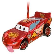 disney cars lighting mcqueen ornament home