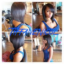 Sew In Bob Hairstyle Tiffan U0027e Nicol Atlanta Best Weaves And Natural Hair Care