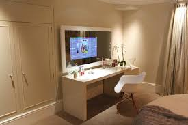 tvs embedded in glass mirrors and doors home decoo