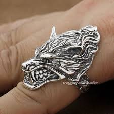 cool fashion rings images Punk rocker fashion anger wolf ring solid 925 sterling silver cool jpg