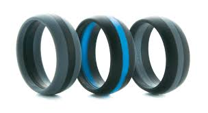 thin line wedding ring stylish thin line silicone wedding bands keepfit products