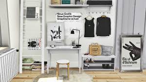 sims 4 cc u0027s the best ikea office set tjusig hallway set and dc