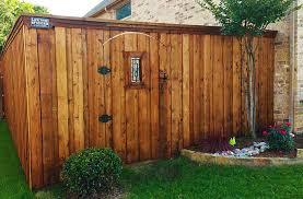cedar wood privacy fence w gate ornament fence companies