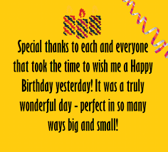 thank you messages for birthday wishes birthday