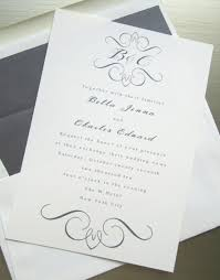 elegant wedding invite vertabox com