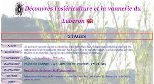 cours de cuisine vaucluse stage de vannerie à beaumont de pertuis vaucluse 84 stages
