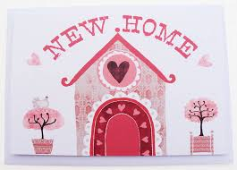 new home card pomegranate prints notonthehighstreet house plans