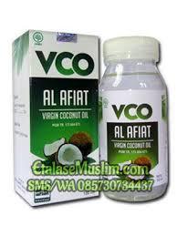 Salep Vco jual vco coconut 150 ml al afiat etalase muslim