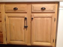dated oak cabinets once again