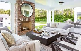 Hamptons Home Hamptons Home Modern Twist Fireplace Cococozy Architecturaldigest