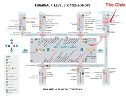 Las Vegas Airport Terminal Map by Lounge Review The Club At Phx Sky Harbor Gate To Adventures
