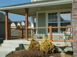 metal front porch rails