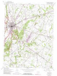 Gettysburg Map Gettysburg Topographic Map Pa Usgs Topo Quad 39077g2