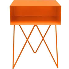 Orange Side Table Orange Side Table This Weeks Style List From Prints To The