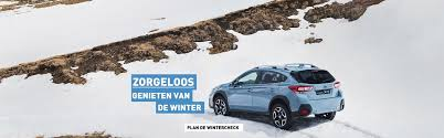 subaru winter subaru nederland zorgeloos de winter door met de subaru wintercheck