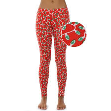 Womens Christmas Light Strand Leggings by Tipsy Elves  RetroFestiveca