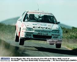 mobil honda civic british rally championship pictures getty images