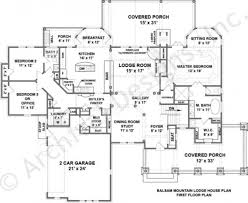 house plans with butlers pantry balsam mountain lodge rustic house plans luxury home plans