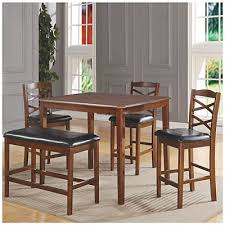 Big Lots Dining Room 5 Wooden Pub Set With Bench At Big Lots Decor Pinterest