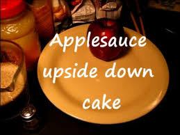 applesauce upside down cake cast iron cooking 1of2 youtube