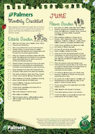 monthly gardening checklists palmers garden centre