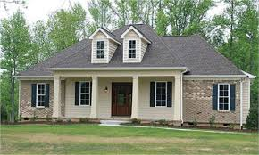 Farmhouse House Plans E Plans Low Country House Plan Cabin Style Plan With Full Length